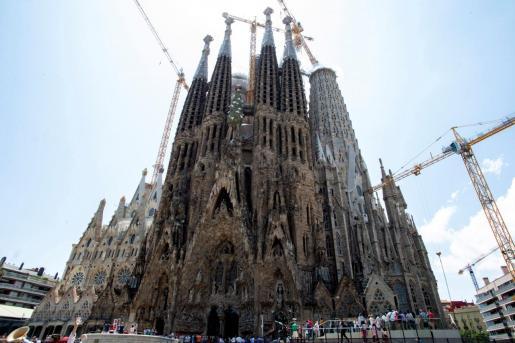 El Ayuntamiento de Barcelona ha regularizado las obras del templo de la Sagrada Familia.