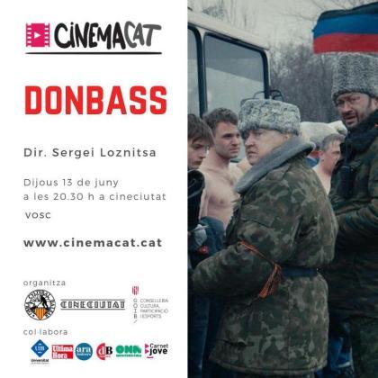 La película 'Donbass' se proyecta en CineCiutat.