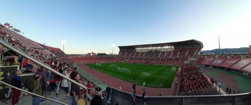 Imagen panorámica del estadio de Son moix.