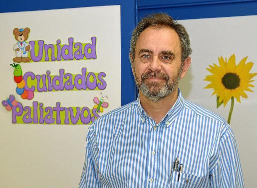 El doctor Martino es coordinador de la Unidad de Cuidados Paliativos Pediátricos del Hospital Niño Jesús.