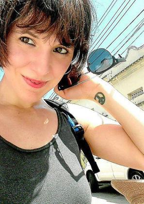 La escritora Almudena Sänchez.