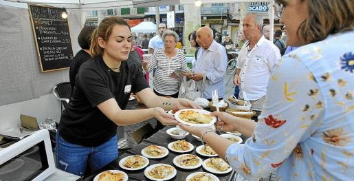 Tanto el viernes como el sábado la fira ha registrado una gran cantidad de visitantes.