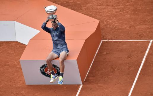 El español Rafael Nadal aseguró que no tenía palabras para describir sus sensaciones tras ganar por duodécima vez Roland Garros.