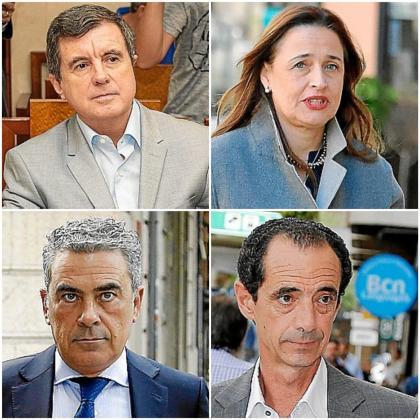Jaume Matas, Aina Castillo, Sergio Bertrán y Jesús Peinado.