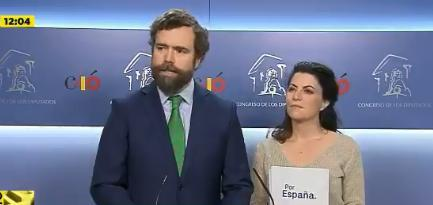Iván Espinosa de los Monteros ha admitido incluso que puede darse el caso de que Cs quiera pactar con Vox «en unos sitios sí y en otros no».