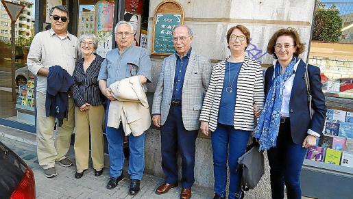 Celestí Alomar, Bàrbara Genovart, Guillem Frontera, Antoni Vidal Ferrando, Bel Vidal y Constança Vidal.