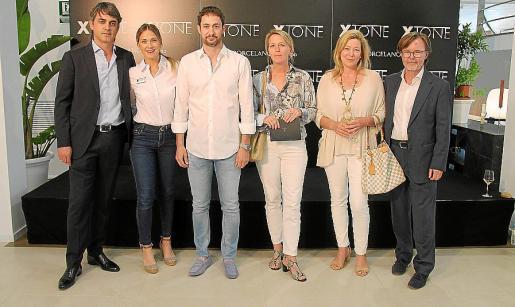 Pablo Ruiz, Marta Simonet, Mateo Fuster, Aggi Bruch, Andrea Herhaus y Pau Veny.