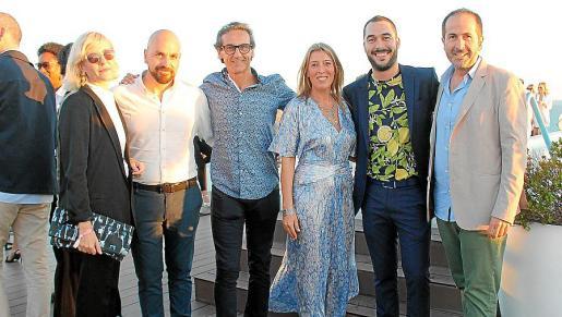 Anuska Menéndez, Sebastià Torrens, José Luis Lope, María Navalón, Pedro Noguera y Antonio Fernández-Coca.
