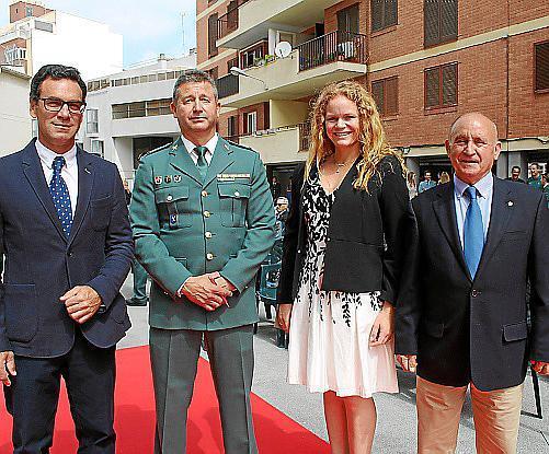 Álvaro Irala, Francisco Molina, Corinna Graf y Francisco Martorell.