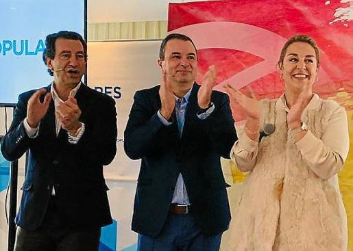 Biel Company, José Manuel Ruiz y Luisa Jiménez.