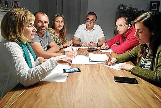 Imagen de una de las reuniones que han mantenido.