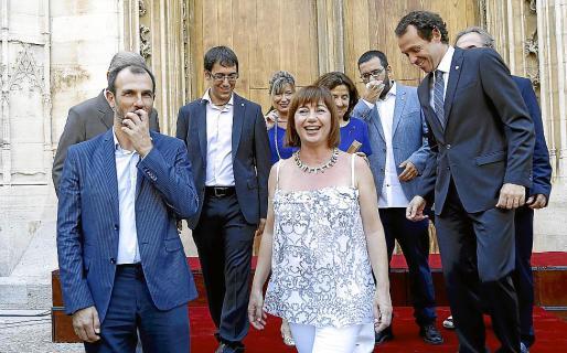 La fotografía es del 3 de julio de 2015, día en que se formó el Govern.