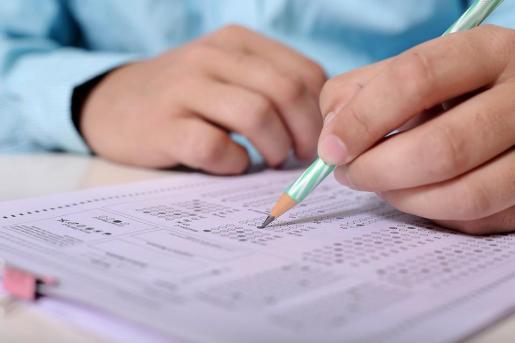 El alumno no estaba de acuerdo con las notas que había sacado.