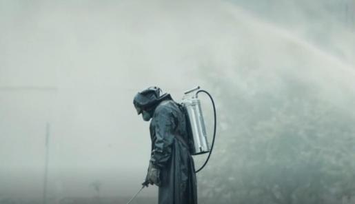 Fotograma del Tráiler Oficial de la miniserie 'Chernobyl' (2019).