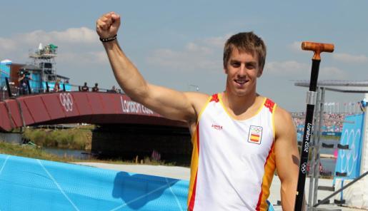 Sete Benavides, durante los pasados Juegos Olímpicos de Londres 2012.