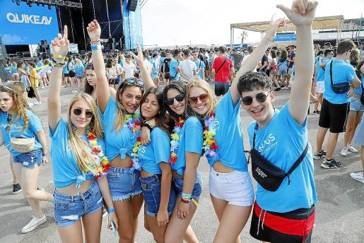 Este mes de junio se esperan miles de estudiantes en Mallorca por viajes de estudios.