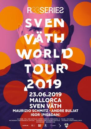 Sven Väth es un reconocido DJ internacional cuyo registro es el techno minimal.
