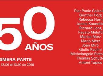 50 aniversario de la Galería Pelaires