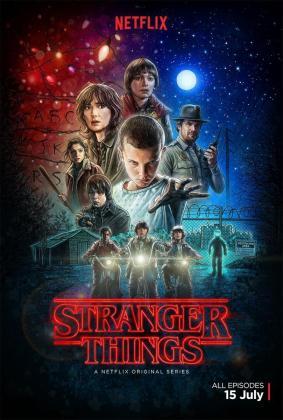 Cartel promocional de 'Stranger Things'.