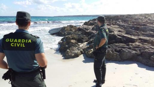 Imagen de archivo de la Guardia Civil de Formentera.