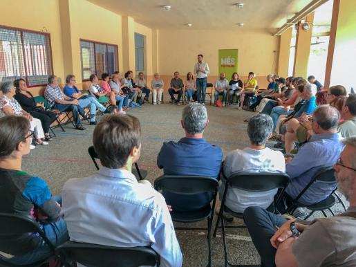 Imagen de una asamblea de Més.