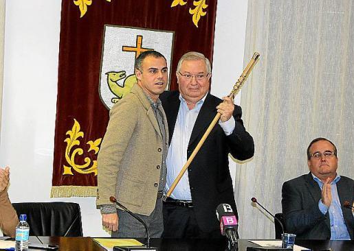 Torres y Monjo, en una imagen que se repetirá el sábado.