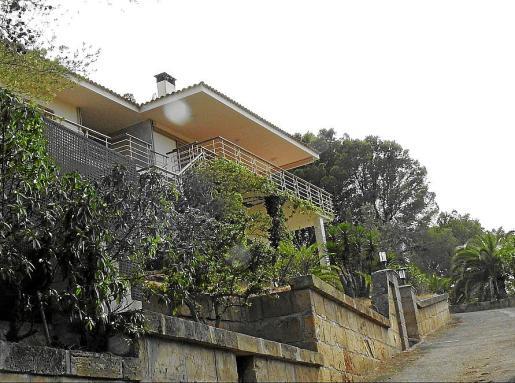 La vivienda está ubicada en la calle Caló den Pellicer.