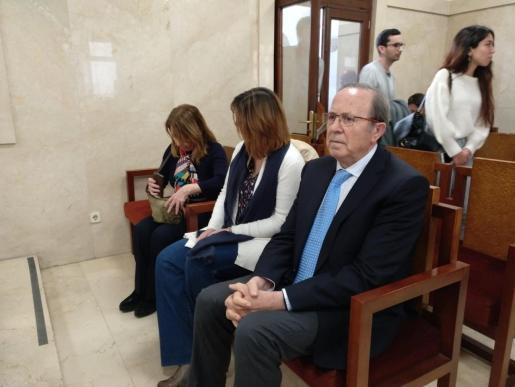 José María Rodríguez en la última sesión del 'caso Over' el pasado mes de marzo.