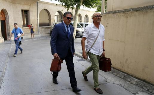 El juez Manuel Penalva y el fiscal Miguel Ángel Subirán, en una imagen de archivo.