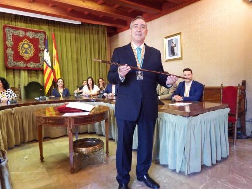 Carlos Simarro alcalde de Sóller.