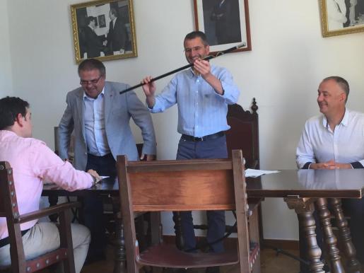 Joan Ribot proclamado alcalde de Ariany.