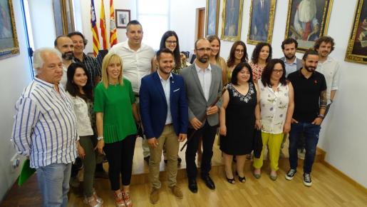 Jaume Monserrat del PI ya es alcalde del Ajuntament de Felanitx.