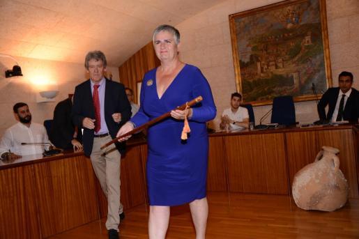 Katia Rouarch, alcaldesa de Andratx.