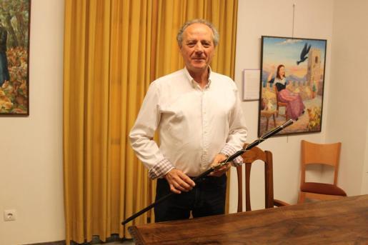 Salvador Femenias, alcalde de Petra.