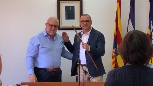 Pep Lluís Urraca ya es el primer alcalde socialista de la historia del Ajuntament de Santa Eugènia.