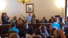 Toni Serra se estrena como alcalde en Muro
