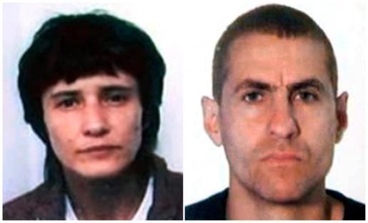 Fotografías de archivo de los presuntos líderes del grupo terrorista Resistencia Galega, Antón García (d) y Asunción Losada (i), en la clandestinidad desde 2006 y que han sido detenidos por la Guardia Civil este fin de semana en Vigo.