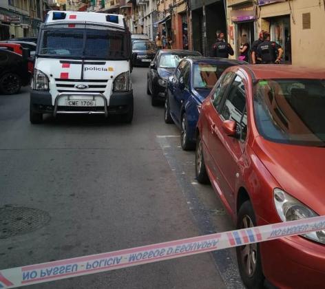 La policía autonómica catalana se ha hecho cargo de la investigación.