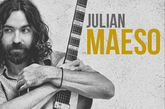 El multiinstrumentista Julián Maeso es también un especialista en órgano Hammond.
