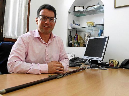 Pep Lluís Pons, nuevo alcalde de Búger.