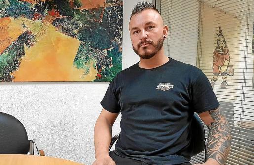 Sorín Nicolae Boldea quiere denunciar la falta de seguridad en Palma.