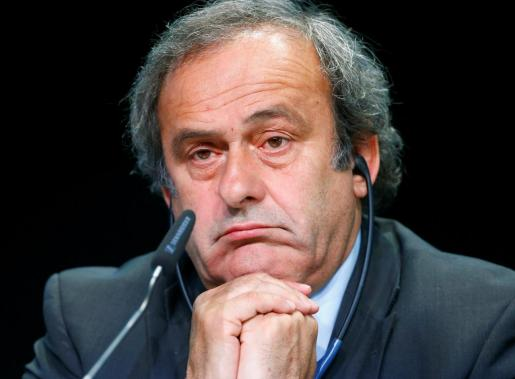 Michel Platini, en una imagen tomada cuando era presidente de la UEFA.