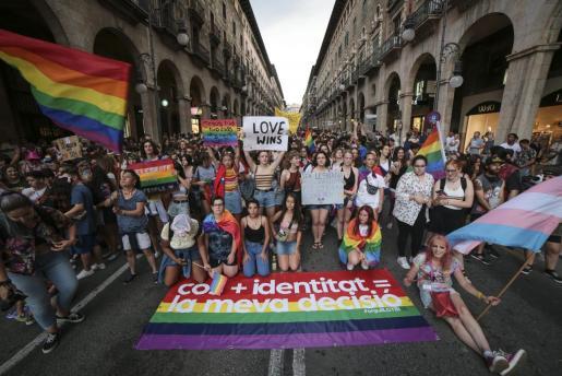 La asociación Ben Amics ha presentado este martes la convocatoria de la manifestación del Orgullo LGTBI.