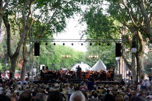 El ciclo de música Estius Simfònics de la Fundació Orquestra Simfònica Illes Balears empieza el 20 de junio de 2019.