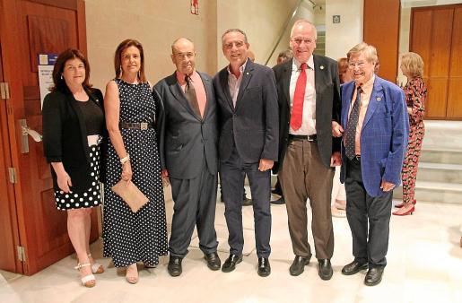 Catalina Font, Jero Balaguer, Tolo Gúell, Joan Sastre, Pau Pomar y Joan Fageda.