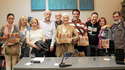 María Sastre, Asunción González, Francisca Quetglas, Ángel Aparicio, Vicenç Sastre, Emilia Rayó, Jesús Jurado, Vicente García, Sofía Fernández y Jesús Jurado.