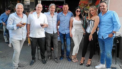 Manuel Zaragoza, Juan Jiménez, José María Fayos, Ángel Cortés, Natalia Castro, Ilduarda Montero y Gustavo Padilla.