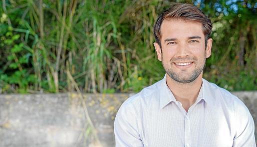 Eric Jareño, alcalde de Llucmajor, fue modelo.