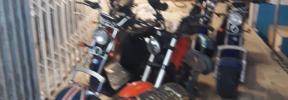 Incendio en la Playa de Palma: Fuego en un local de motos eléctricas
