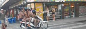 Temeridad sobre dos ruedas en Ibiza